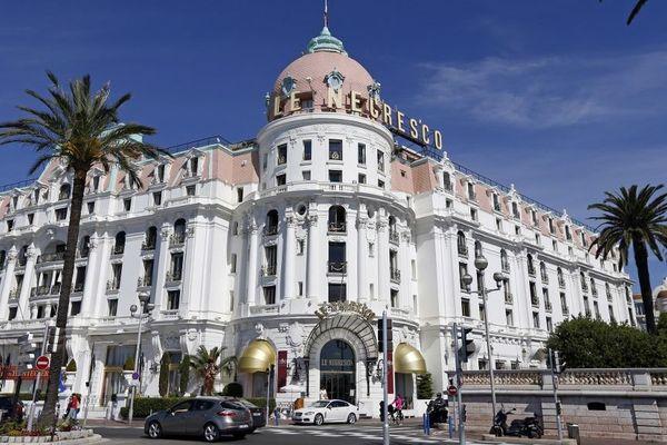 Le Negresco, hôtel mythique de le Promenade des Anglais à Nice.