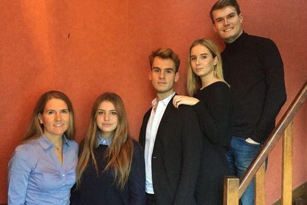 """La famille à l'origine de la création de la start-up """"Le cuir est dans le Pré"""""""