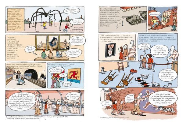 L'histoire de l'Art en BD de Marion Augustin et Bruno Heitz
