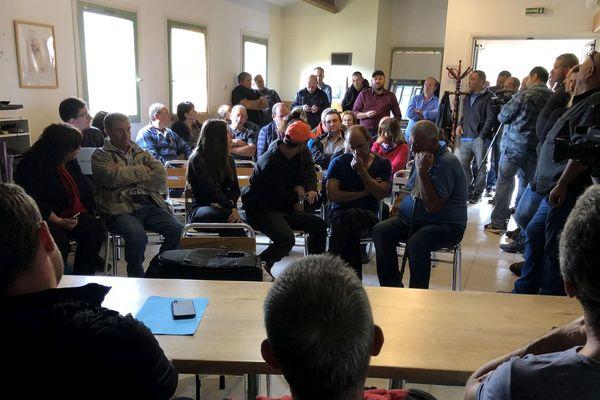06/10/2018 - Une cinquantaine d'agriculteurs s'est réunie samedi à San Lorenzo (Haute-Corse) inquiets par les coupes prévues dans le futur budget de la Politique Agricole Commune (PAC).