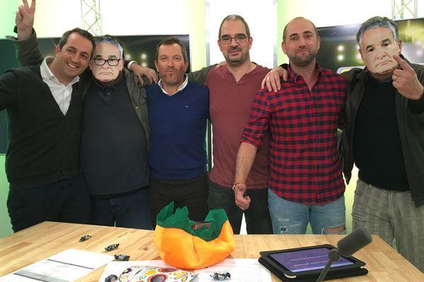 Anthony Brulez et ses invités dans Canariplay du 31 octobre 2017