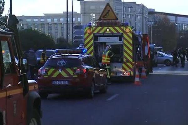 L'accident s'est produit sur le pont enjambant le Lez