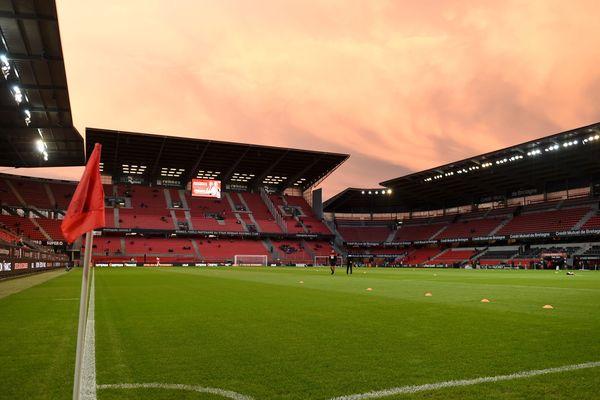 Le Roazhon Park, à Rennes.
