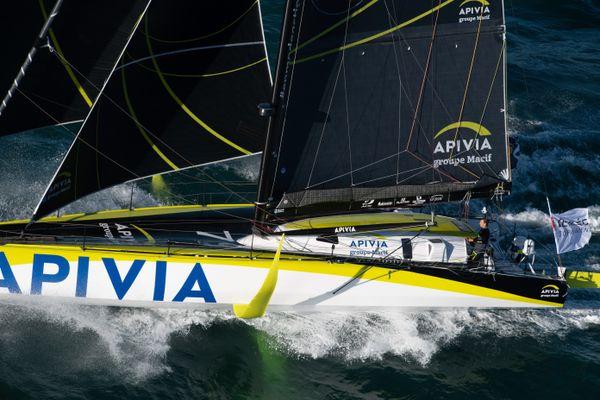 Le skippeur du Havre, Charlie Dalin, progresse dans ce Vendée Globe 2020 et peut espérer retrouver sa première place dans le Pacifique.