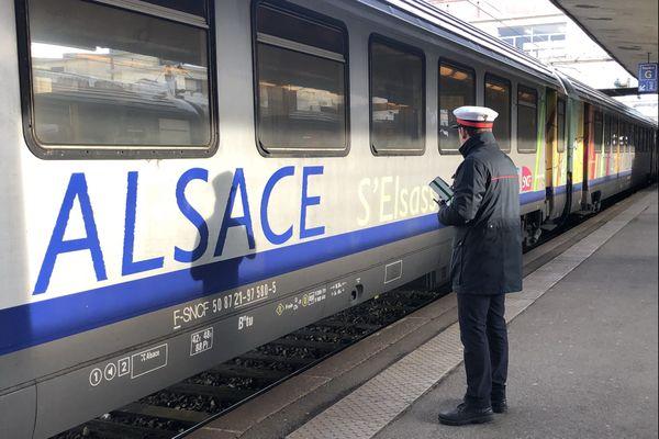 Le trafic ferroviaire réduit la voilure en cette période de reconfinement national