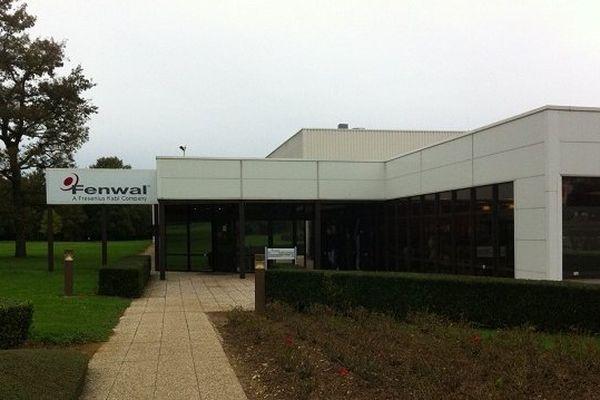 Entreprise Fenwal à La Châtre (Indre).