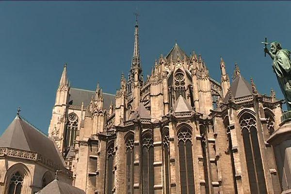 La cathédrale d'Amiens. Illustration.