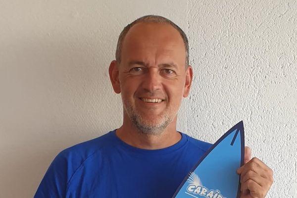 Journaliste et auteur de livre sur le sport, le Girondin Laurent Brun devait publier ce mois-ci un ouvrage sur l'histoire du Lacanau Pro.