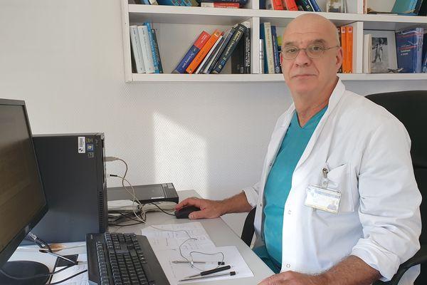 Professeur Jean-Luc Jouve, membre du Collectif Inter-Hôpitaux