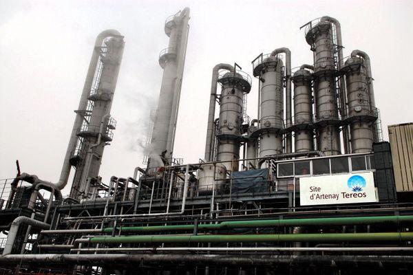 L'usine sucrière de Tereos à Artenay