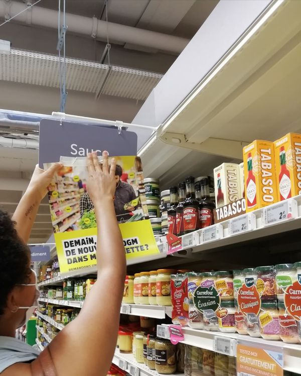 """demain, nous pourrions consommer des OGM sans le savoir"""" alerte Suzanne Dalle, chargée de campagne Agriculture à Greenpeace France"""