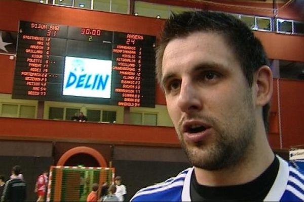 Julien Portefaix, un des artisans de la victoire dijonnaise