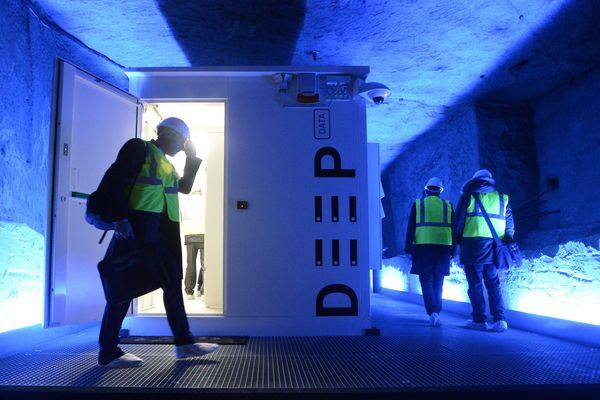 Dans le saumurois, les galeries de tuffeau offrent un réfrigérateur naturel aux data center.