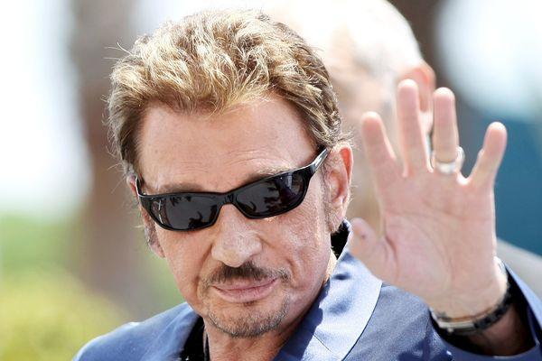 Johnny Halliday lors du 62ème festival de Cannes