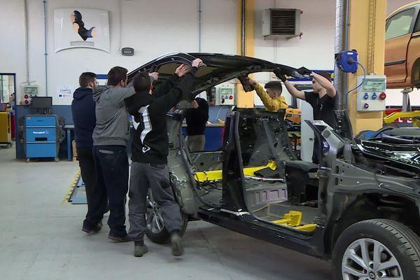 Le CFA de Boulazac fait la promotion de sa filière automobile