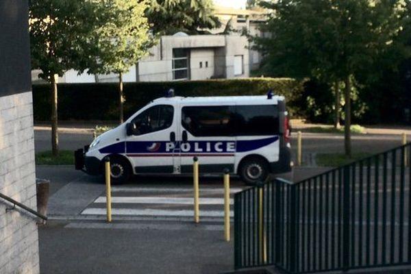 Ronde policière dans le quartier de Villejean à Rennes, ce mercredi soir