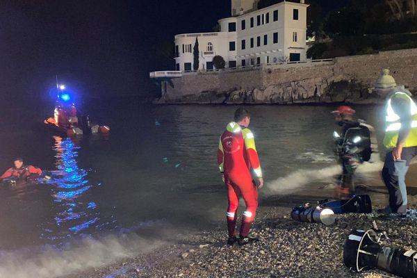 Plus d'une trentaine de secouristes ont été mobilisés pur rechercher un plongeur porté disparu dans la grotte du Bestouan. Il a été retrouvé mort, vers 1h du matin.