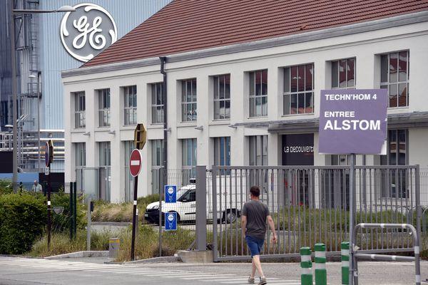 Près de 800 emplois sont menacés à Belfort par le plan de sauvegarde de l'américain GE.