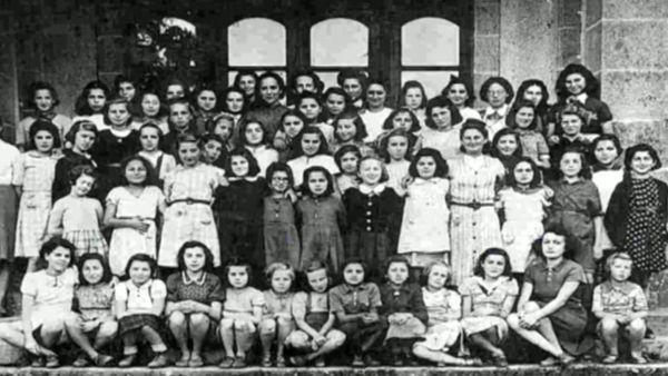 Des enfants juifs seront recueillis au château de Montintin jusqu'en 1944