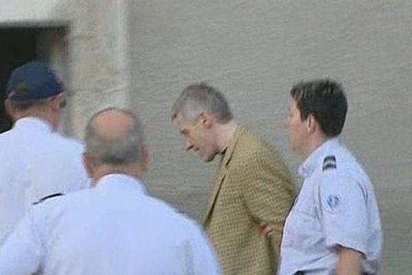 Ulrich Muenstermann lors de son procès devant les assises de l'Yonne en 2011