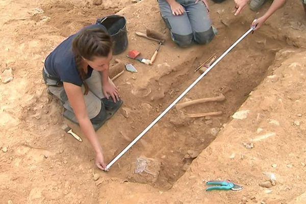 Nîmes - 70 tombes ont été découvertes après six ans de fouilles - août 2019