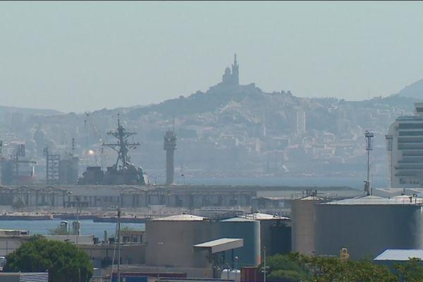 En 2019, la ville de Marseille avait déjà connu un pic de pollution important.