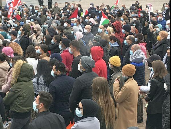 A Metz samedi matin : une manifestation en soutien aux palestiniens a été autorisées par la préfecture.