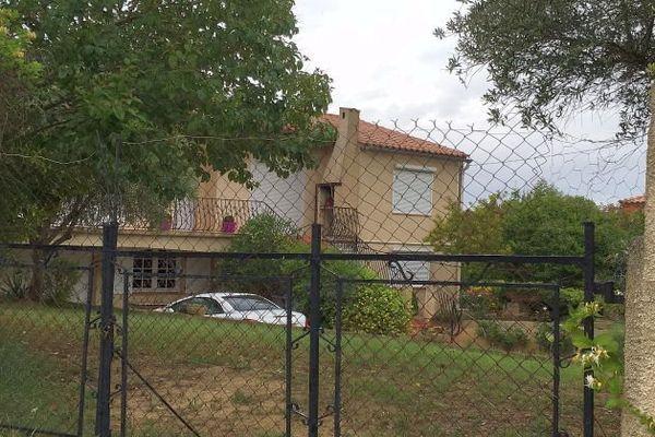 Nissan-lez-Enserune (Hérault) - la maison du drame - 31 mai 2016.