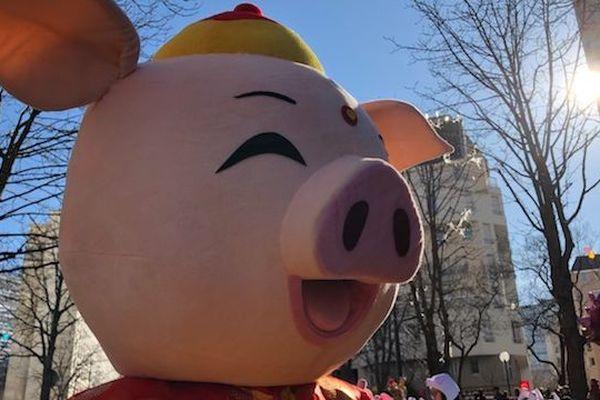 L'année 2019 est celle du Cochon de terre dans le calendrier chinois.