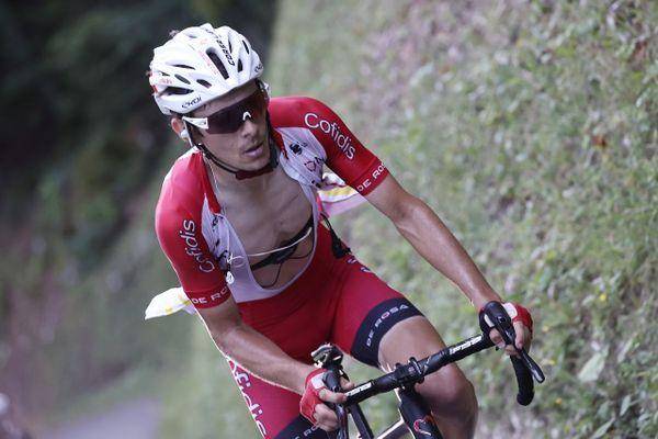Guillaume Martin le 13 septembre pendant la 15e étape du Tour de France.