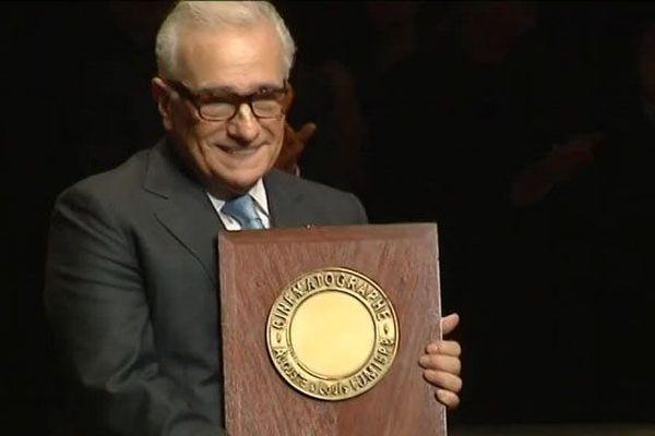Martin Scorsese était venu à Lyon en 2015 pour recevoir le Prix Lumière