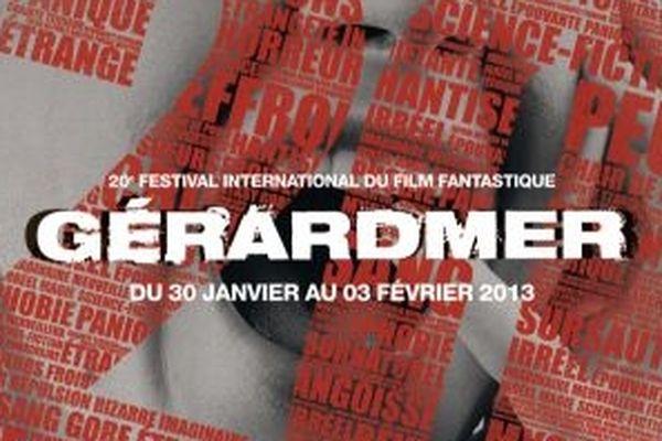 L'affiche des 20ème festival du film fantastique de gérardmer