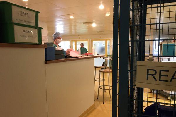 Le service de réanimation de l'hôpital de Guéret