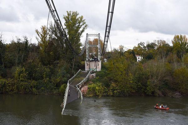 Le pont de Mirepoix-sur-Tarn (31) s'est effondré vers 8 heures, ce lundi matin faisant un mort et plusieurs blessés.