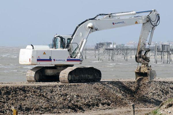 Après la tempête Xynthia en 2010, de nombreux travaux de consolidation ont été entrepris sur le littoral de Charente-Maritime.