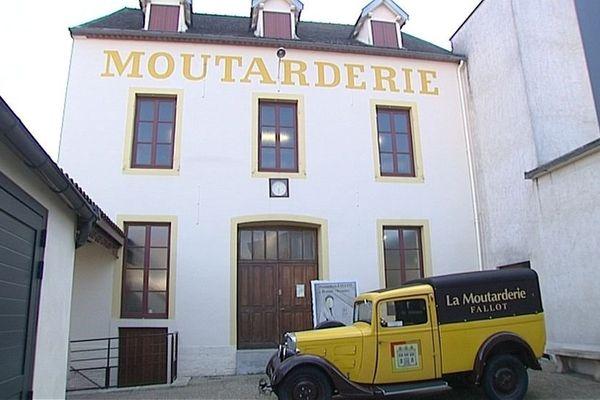 La moutarderie Fallot, à Beaune, a été créée en 1840