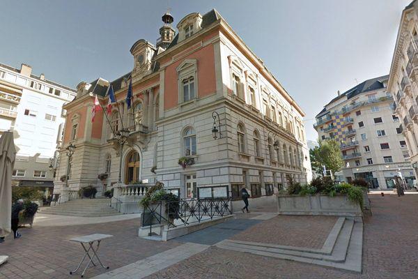 La mairie de Chambéry en Savoie