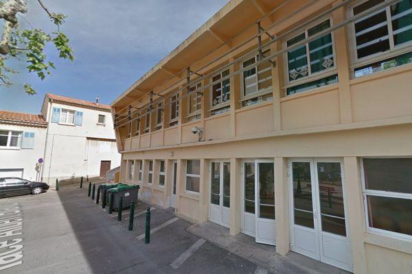 Les locaux de l'école élémentaire Albert Blanc à Ceyreste.
