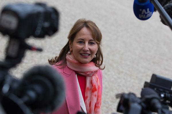 La ministre de l'Écologie lors de la rentrée du conseil des ministres, le 4 janvier 2017.