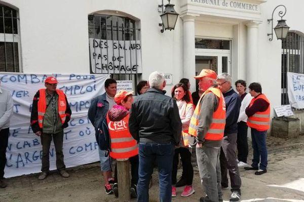 Charcuteries Gourmandes de Josselin : les salariés attendent la décision du tribunal de commerce de Vannes