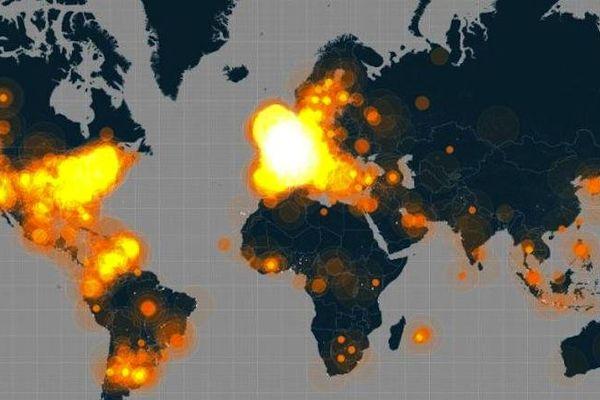 Sur Twitter, le hashtag #JeSuisCharlie est entré dans l'Histoire avec un pic de mention de plus de 6500 tweet / minutes le mercredi 7 janvier au soir. Du jamais vu.