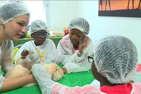 Cette pratique, nommée médiation animale, est pratiquée depuis maintenant six ans dans cet hôpital.