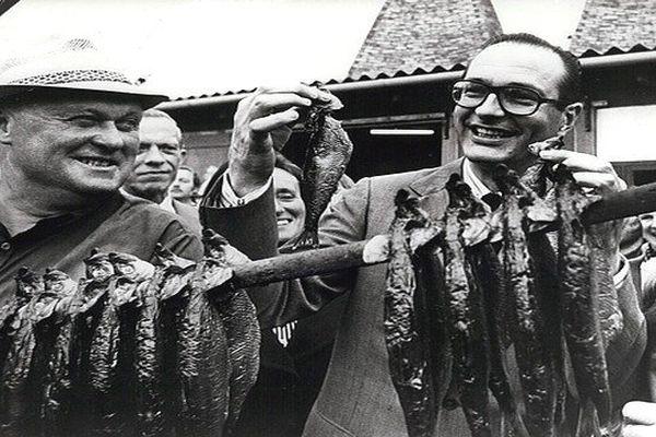 Jacques Chirac au Danemark en 1978