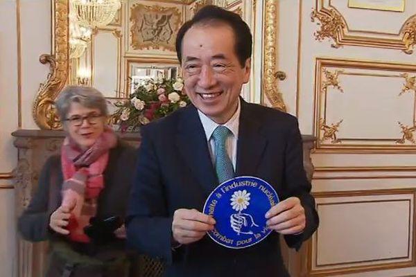 En visite, dans le Nord-Cotentin, l'ex-Premier ministre japonais Naoto Kan vient témoigner sept ans après la catastrophe nucléaire de Fukushima