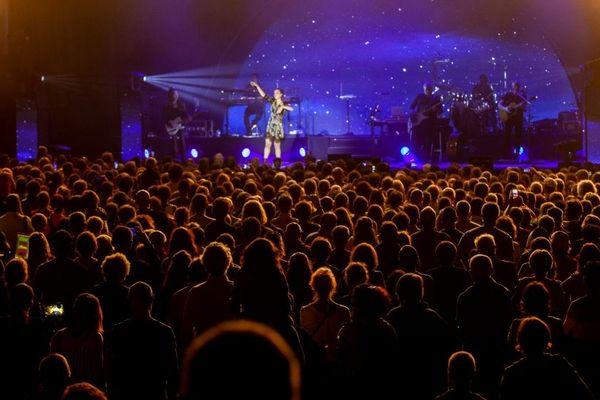 Le concert de Zaz lors du Vercors Music Festival 2019.