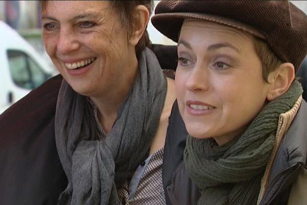 """Sophie Jovillard et l'équipe de l'émission """"Echappées Belles"""" en tournage dans la Creuse au printemps 2016"""