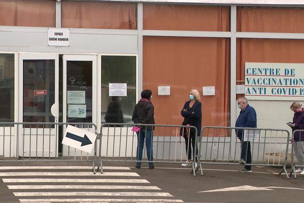 Centre de vaccination de Saleux, le 10/05/21