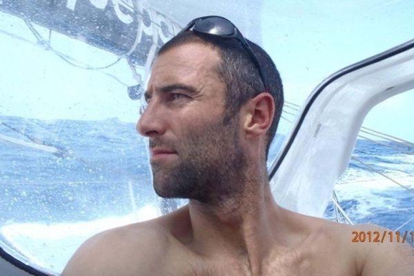 Armel Le Cléac'h... en vacances à la mer...