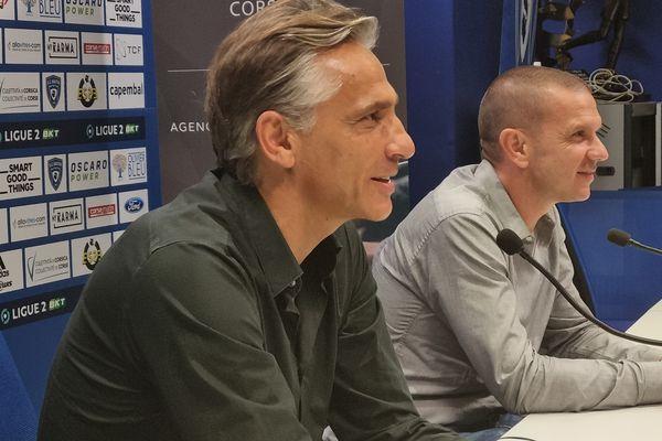 Régis Brouard, nouveau coach du Sporting Club de Bastia.