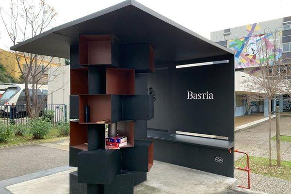 Les cabines à livres bastiaises ont été mises en place avec le dispositif de budget participatif.